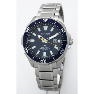 Citizen TITAN ECO-DRIVE Solar Divers 200 Taucheruhr Herrenuhr BN0201-88L