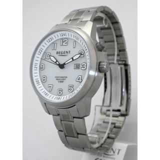 Regent F1187 Night Master Herrenuhr mit LICHT - 10 BAR WR UVP 99,00 EUR