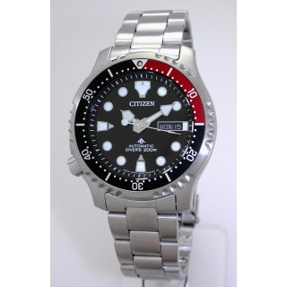 Citizen PROMASTER Marine Automatic DIVERS ISO 6425 Taucheruhr NY0085-86EE