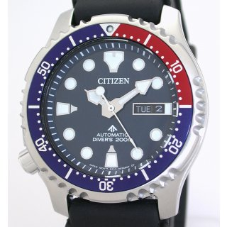 Citizen PROMASTER AUTOMATIC DIVERS ISO 6425 Taucheruhr NY0086-16LE