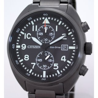 Citizen ECO-DRIVE Solar Sport-Chronograph 41 mm - 10 BAR WR - CA7047-86E