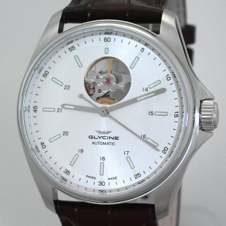 Glycine Combat Classic Open Heart Automatic Herrenuhr 40 mm GL0120
