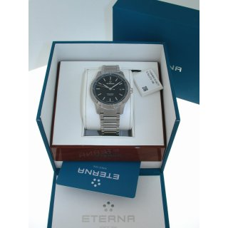 Eterna Tangaroa Automatic Herrenuhr Stahl Swiss Made 42 mm Ref. 2948-41-41-0277