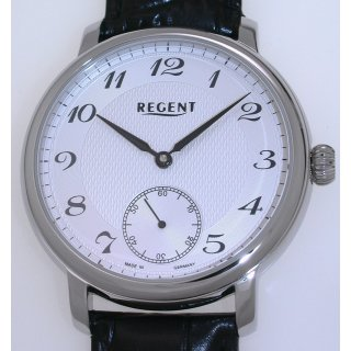 Mechanische Regent Herrenuhr 45 mm Made in Germany UVP 338,00 EUR Handaufzug