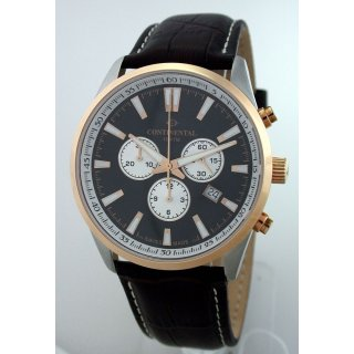 CONTINENTAL SWISS MADE Chronograph - 10 BAR WR - UVP* 318,00 EUR SAPHIRGLAS