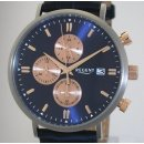 Eleganter Regent TITAN Chronograph BA-301 Herrenuhr 40 mm...